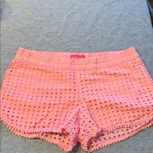 Lilly Pulitzer for Target pink shorts—size M